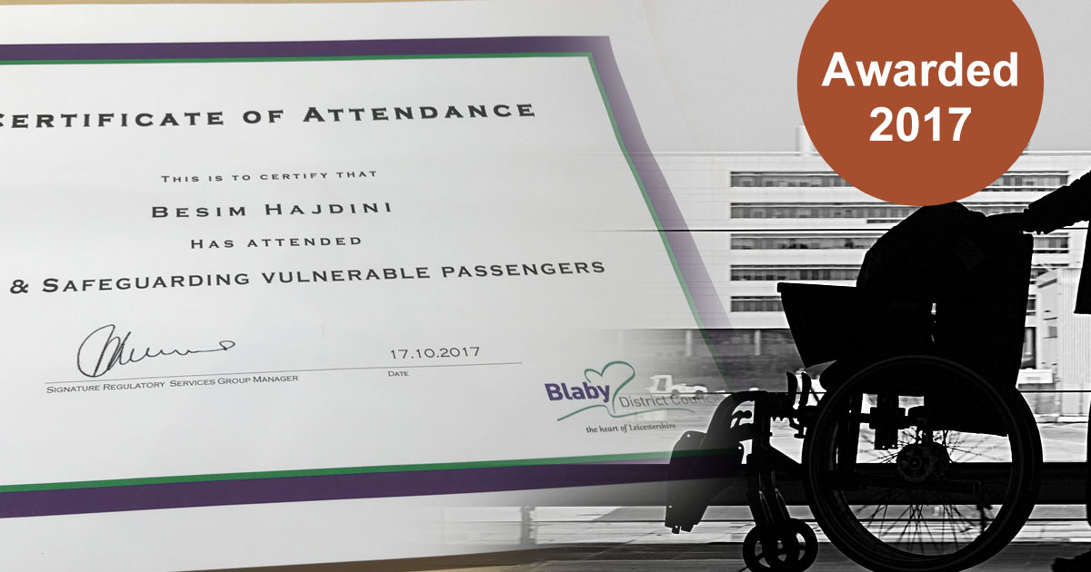 Safeguarding Vulnerable Passengers